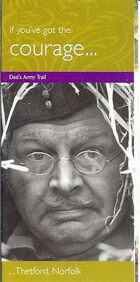 Dad's Army Thetford Norfolk Corporal Jones  16 side trail guide Perry & Croft