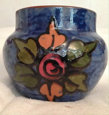 Torquay Ware Pottery Bowl - Flower Design