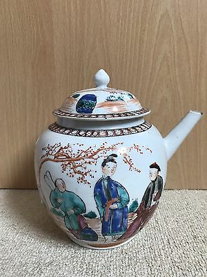 18th Century Chinese Family Rose Teapot