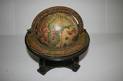 Vintage Old World Zodiac Desk Top Globe-Italy