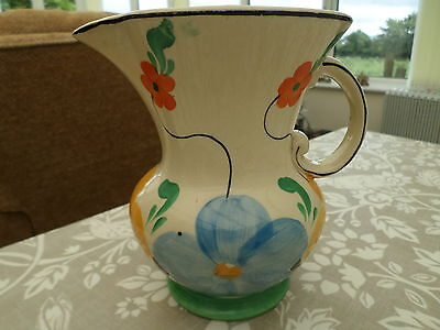 H J Wood Burslem Jug Similar Clarice Cliff