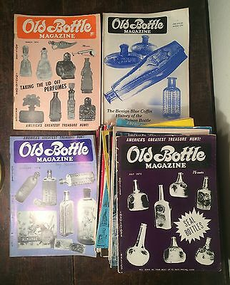 Lot Of 31 Old Bottle Magazines Most 1970S