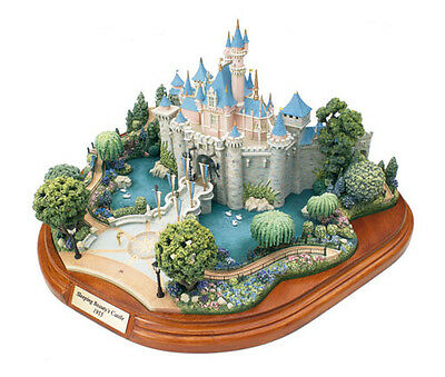 Disney New Disneyland Sleeping Beauty Castle Miniature Main Street by Olszewski