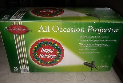 Huntington All Occasion Holiday Indoor Outdoor 5' Image Projector 25 Slides