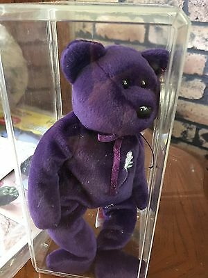 aff1578602b TY Beanie Baby First Edition Princess Diana Bear - PVC - Indonesia - No  Space