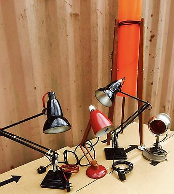herbert terry anglepoise And Vintage Lights