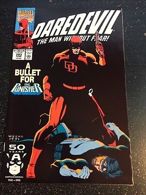 Daredevil#293 Incredible Condition 9.4(1991)Punisher, Tombstone, Taskmaster!!