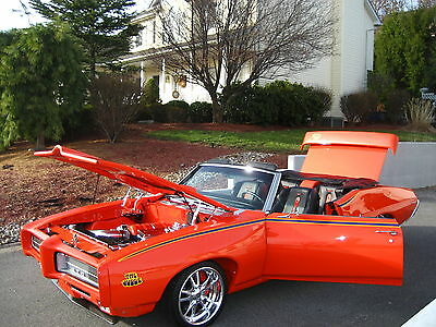 1969 Pontiac GTO CONVERTIBLE 1969 PONTIAC GTO CONV PRO-TOURING  CHEVY OLDS BUICK FORD DODGE