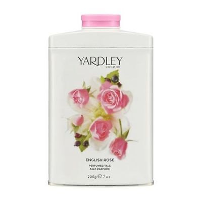 Yardley English Rose Talc 200g - New Pack from Yardley - UK SELLER