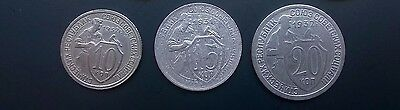 Russia, Russland set of 3 coins  (1931 - 1935)