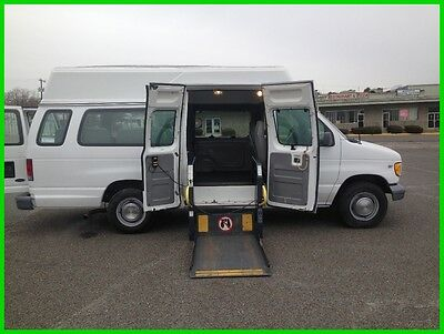 2002 Ford E-Series Van Commercial VAN WHEELCHAIR HANDICAP HIGH TOP POWER LIFT 2002 Commercial Used 5.4L V8