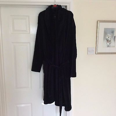 Mens Navy dressing gown size M exc cond Burton