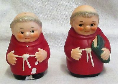 2 Vintage 1960-72 Goebel Red Cardinal Salt & Pepper Pots TMK3