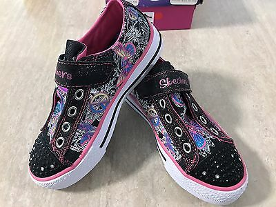 Skechers Twinkle Toes Light Up Kids Shoes - Brand New - Size 13