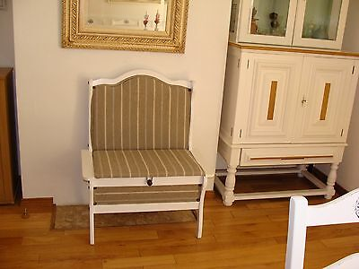 Kitchen/ Dining /shabby Chic Bench With Storage