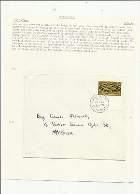 Cyprus Galatia rural post cover   written up