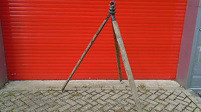 ~ CC ~ Vintage ~ Surveying Scope ~ Antique ~ Wooden Stand ~ 100% To Charity ~