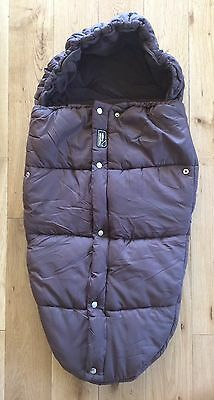 Mountain Buggy Dark Brown Cosytoes Sleeping Bag Brand new with tags £75