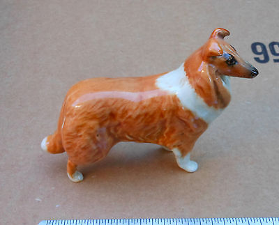 Vintage Porcelain Collie Dog Figurine Beswick England British Made