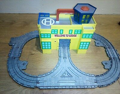 Take Along / Take N Play Thomas Tank Engine Sodor Airport With Light And Sounds