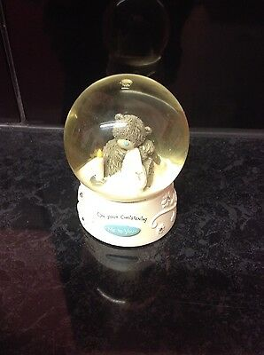 Me to You Christening Snow Globe