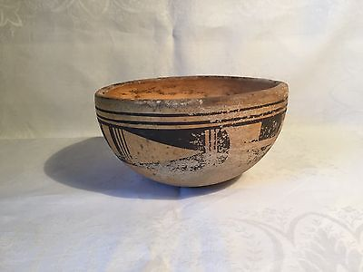 Antique Native American Painted Clay Pot