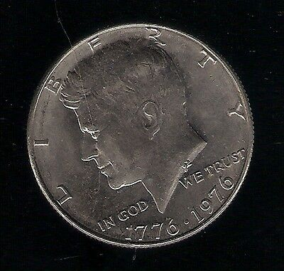 1976 ½ Dollar USA COIN Kennedy Half Dollar Bicentennial Independence Hall 1776