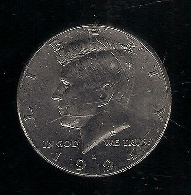 1994 D ½ Dollar USA COIN Kennedy Half Dollar Copper-nickel clad Copper