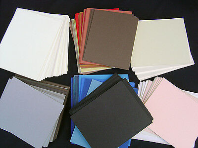 150 Bevel Cut Mats small pieces in many colors and sizes