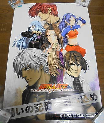 Rare Game Official Promo Poster The King of Fighters Neowave SizeB2 PS2 JAPAN