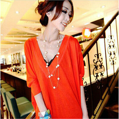 NEW Fashion Women MultiLayer Long Pearl Necklace Pendant Sweater ChainJewelry ;