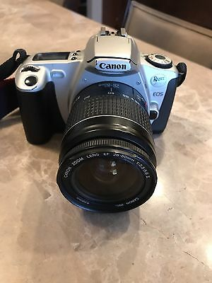 Used Canon EOS Rebel 2000 35mm SLR Film Camera with 28-80 mm lens Kit.