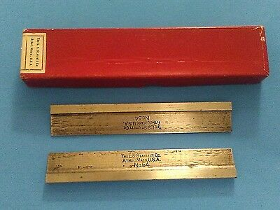 starrett hold downs no.54  4 inch. USA made