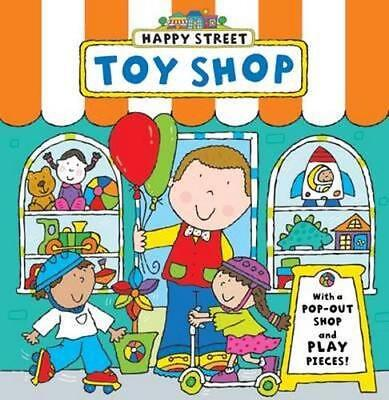 NEW Happy Street Toy Shop By Simon Abbott Board Book Free Shipping