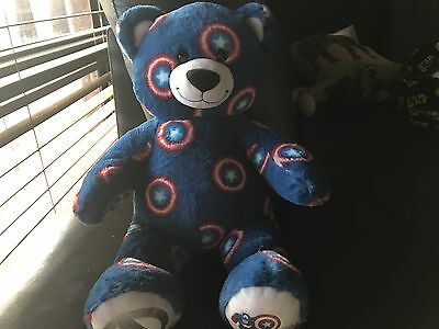 Build A Bear Captain America Bear With Star Wars Sound
