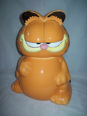 Garfield ceramic cookie jar - from Paws, 1998 - Pick up Greensborough, Melbourne