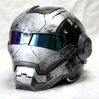 "Iron Man motorcycle helmet ""Masei"" open face half helmet High quality."