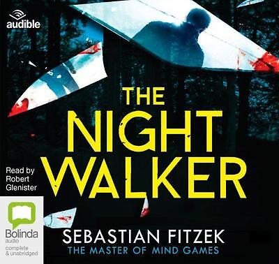 NEW The Nightwalker By Robert Glenister Audio CD Free Shipping