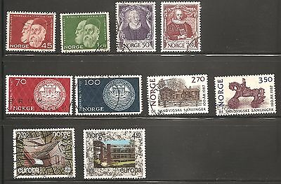Norway - Used - 5 Complete Sets - SCV $6.15