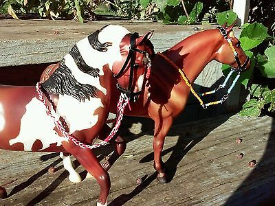 Breyer horse custom two bridles