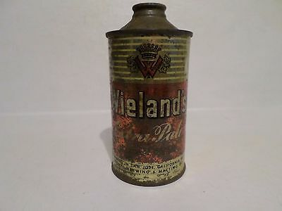 Vintage Rare Wieland's Extra Pale IRTP 189-13 San Jose Cone Top Beer Can
