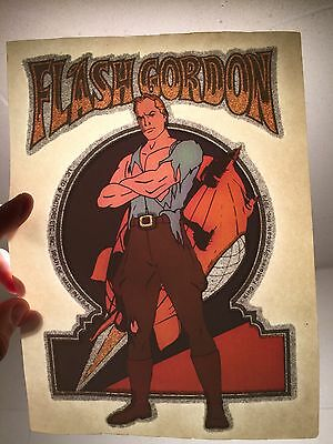 Vintage Retro Tshirt Heat Transfer, Flash Gordon, Superhero
