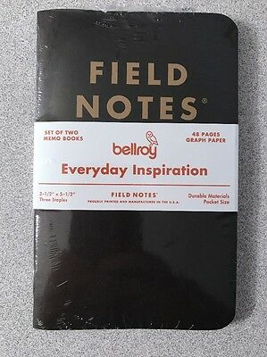 Field Notes Bellroy Everyday Inspiration - Sealed 2pk