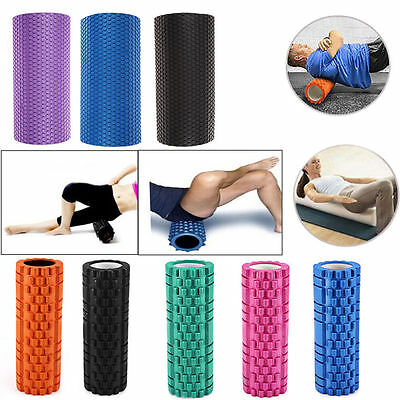 Yoga Trigger Point Foam Roller Muscle Tissue Massage Fitness Gym Pilates Sports
