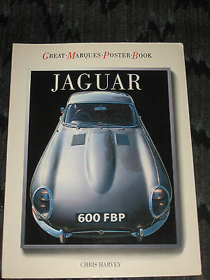 Jaguar 1985 Great Marques Poster Book by Chris Harvey