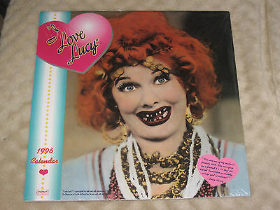 Lucille Ball I Love Lucy NEW 1996 Calendar can be used in 2024 Landmark CBS