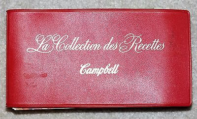 Vintage Campbell's Soup Recipe Booklet French Canadian