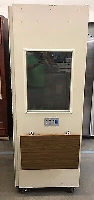 Acoustic Systems RE-120 Audiometric Sound Booth Enclosure Whisper Room 39x29x79""