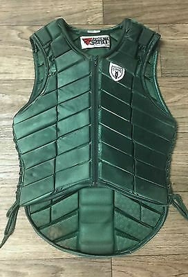 TIPPERARY equestrian eventing protective riding vest size S (36)