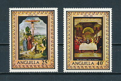 Anguilla  68-9 MNH, Easter 1969
